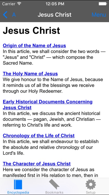 Catholic Encyclopedia Offline Lite