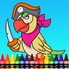 Pirate Coloring Book for Kid Games icon