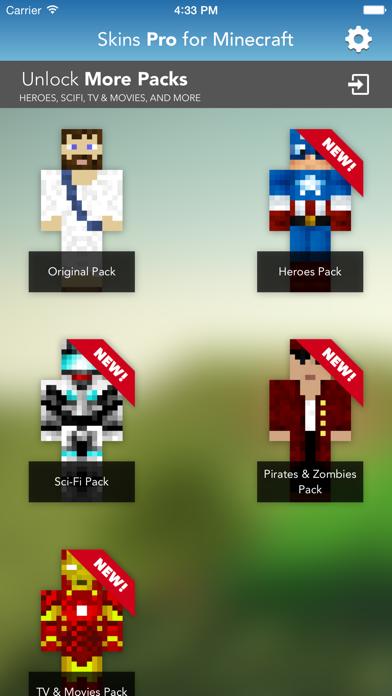 Skins Pro for Minecraft (Unofficial)のおすすめ画像2