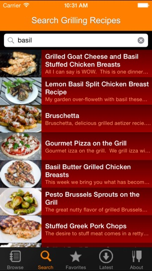 Grill-It! Grilling and BBQ Recipes Screenshot