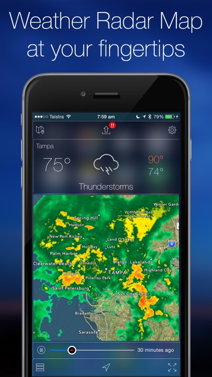 Weather Radar Map & NOAA Forecast Pro