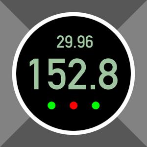 Pro Altimeter - Barometric Altimeter with Manual/GPS/METAR Calibration app