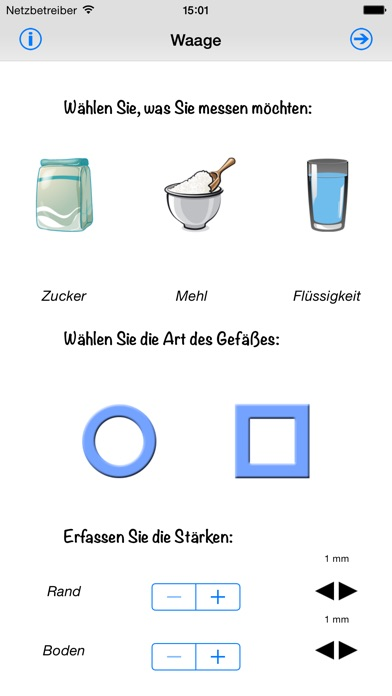 Screenshot for Küchenwaage in Germany App Store