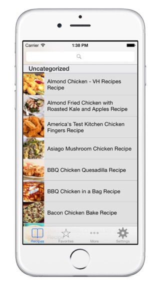 All Chicken Recipes Free screenshot one