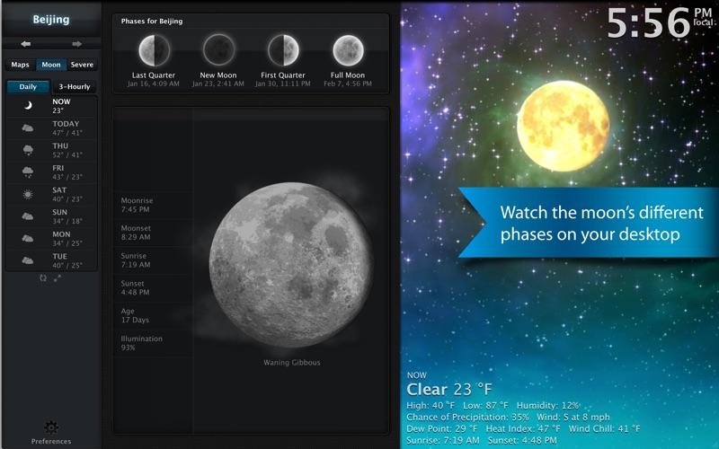 Weather HD Screenshot