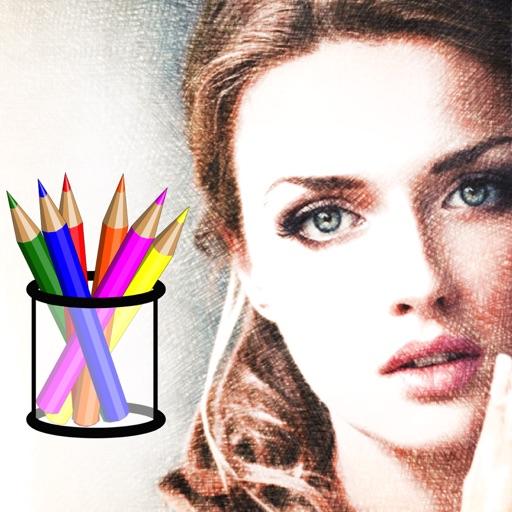 Color Sketch - Pencil Drawing