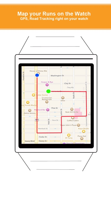 Run Watch - Heart Rate, Map, and GPS for running, cycling, walking workouts & weight loss