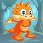 A Little Dragon Adventure Game For Kids icon