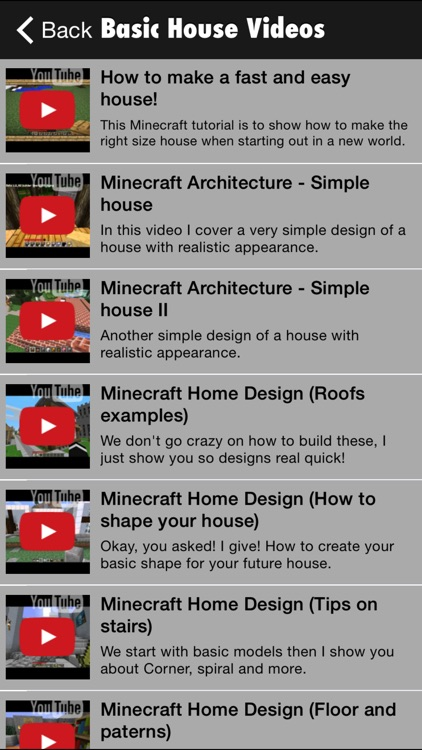 House Guide for Minecraft