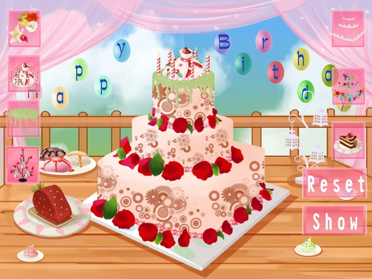 pretty birthday cakes hd by tang jianlin