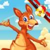 Kangaroo Airplane Trek Lite - 9 Fun Animal Games in One Pack for Kids
