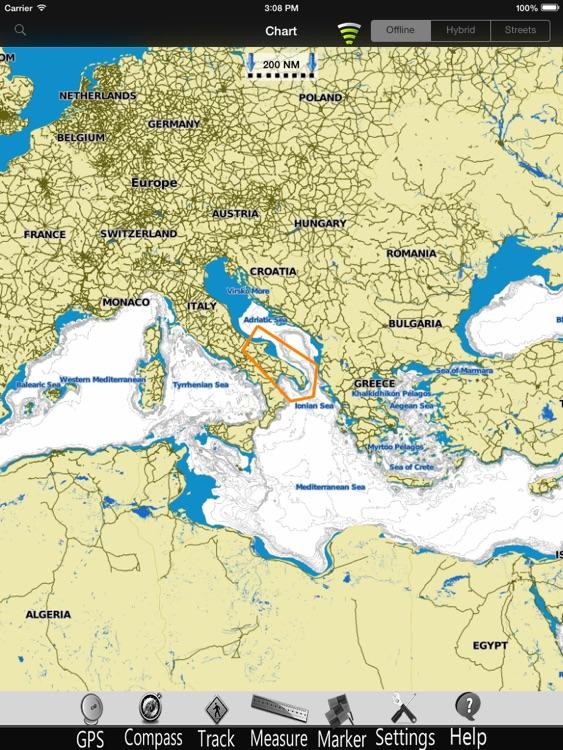 Apulia GPS Nautical Charts Pro screenshot-3