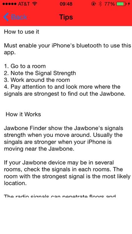 Find My Jawbone UP