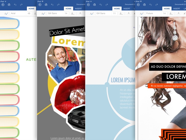 Templates for MS Word: Documents for iPad screenshot-3