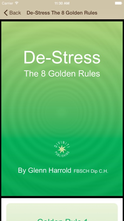 Beach Meditation by Glenn Harrold: Self-Hypnosis Relaxation for  Sleep screenshot-4