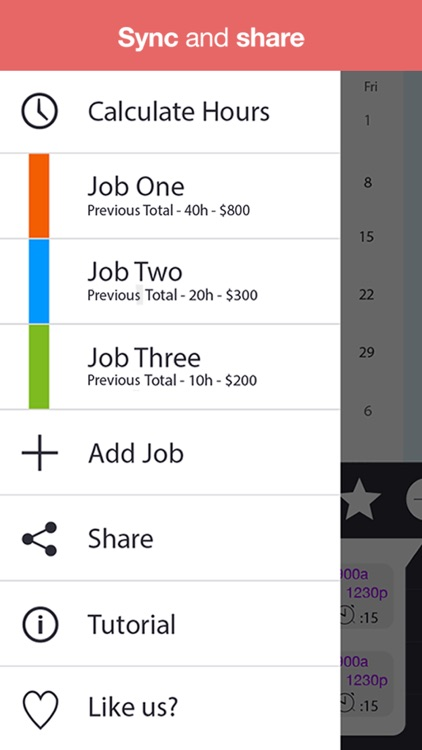 WorkTime Pro - Work Schedule, Shift Calendar & Job Manager screenshot-4