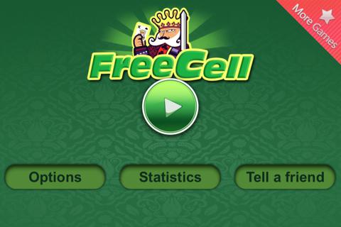 Card: Freecell - náhled