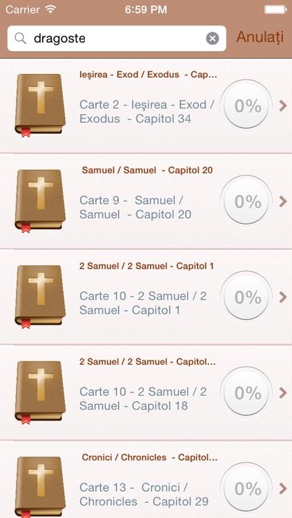 Romanian Holy Bible Audio mp3 - Biblia română - Versiunea Dumitru Cornilescu screenshot-3