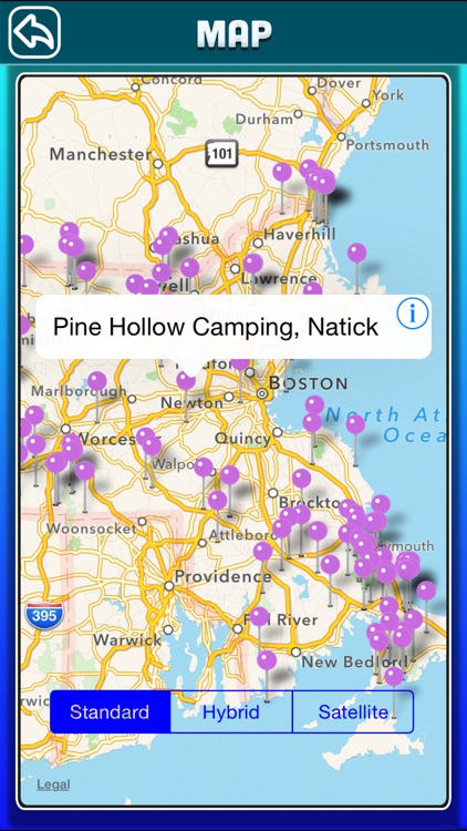Massachusetts Campgrounds & RV Parks Offline Guide screenshot-3