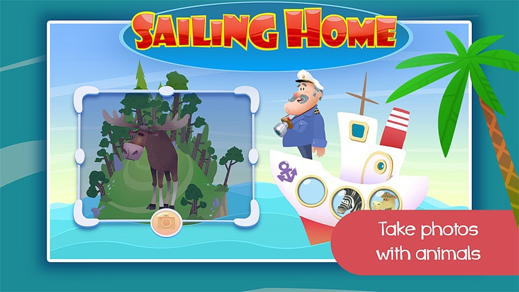 Sailing Home – Learn Animal Habitats. Educational game for preschool kids screenshot-3
