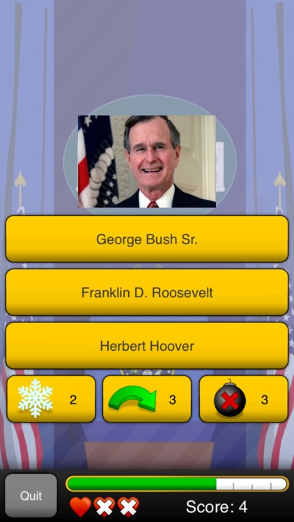 Presidents Quizzer screenshot-0