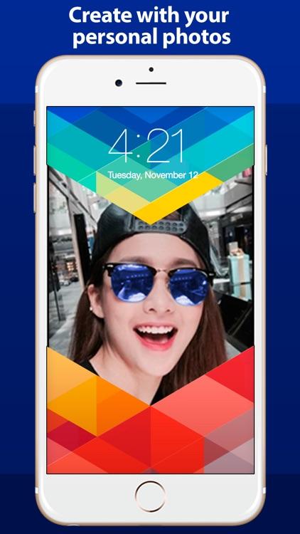 Lock Screen HD - Personalize theme, wallpaper and background for LockScreen screenshot-3