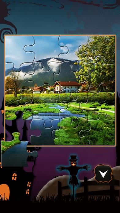AAA Jigsaw for evil halloween screenshot one