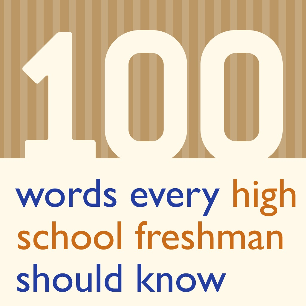 100 Words Every High School Freshman Should Know icon