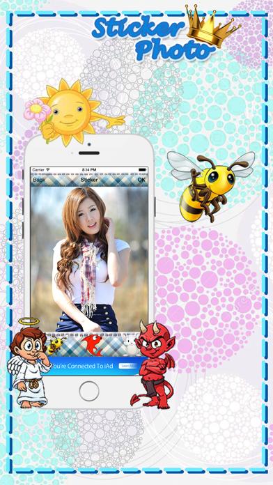 PhotoStar Sticker 2 : Fun Photo Editor screenshot two