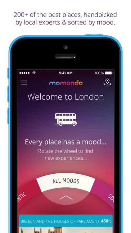 London travel guide & map - momondo places