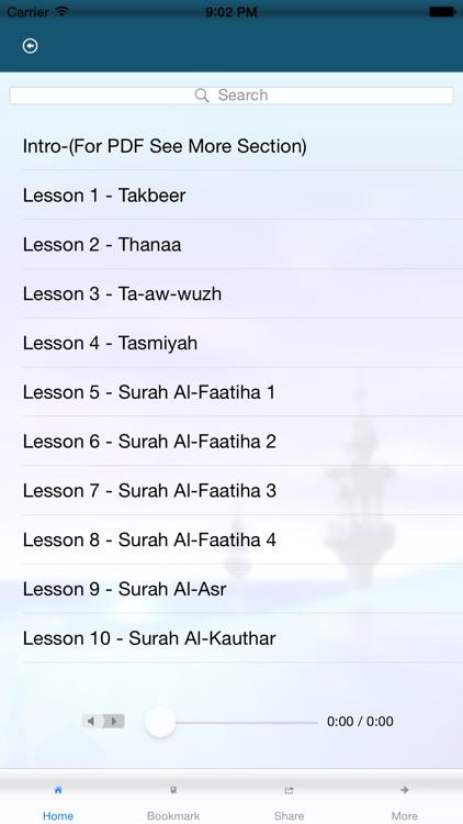 Learning Tajweed