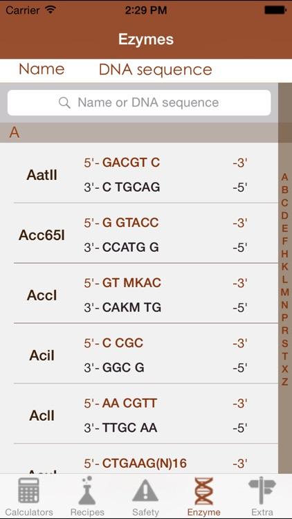 Mr BioChem - Biochemistry lab help screenshot-4