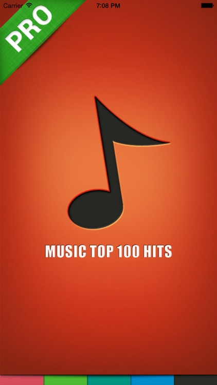 Music top 100 hits PRO version
