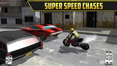 3D Motor-Bike Drag Race: Real Driving Simulator Racing Game Screenshot 3
