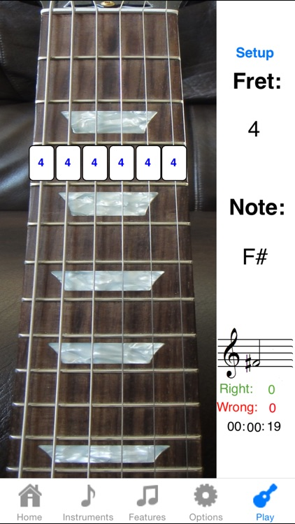Electric Guitar Fretboard Addict FREE screenshot-2