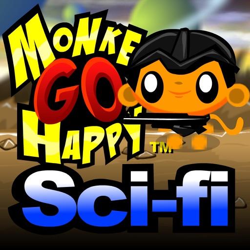Monkey GO Happy Scifi 1 and 2