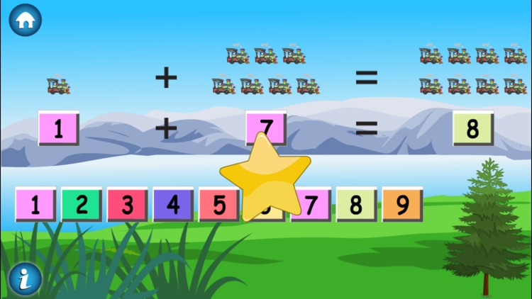 MATH ADDITION GAME FOR KIDS
