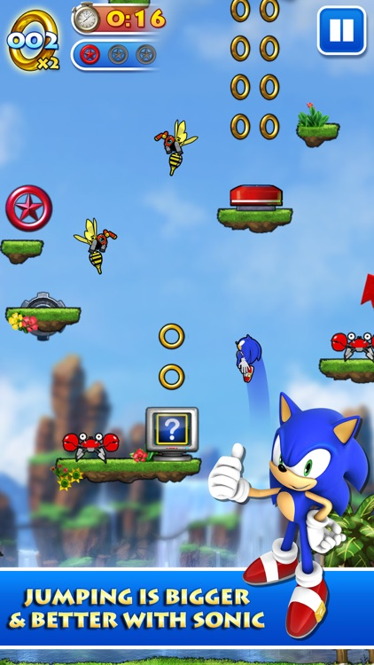 Sonic Jump™ screenshot-1