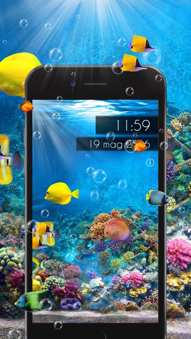 Amazing Aquarium Clock 2 LITEのおすすめ画像1