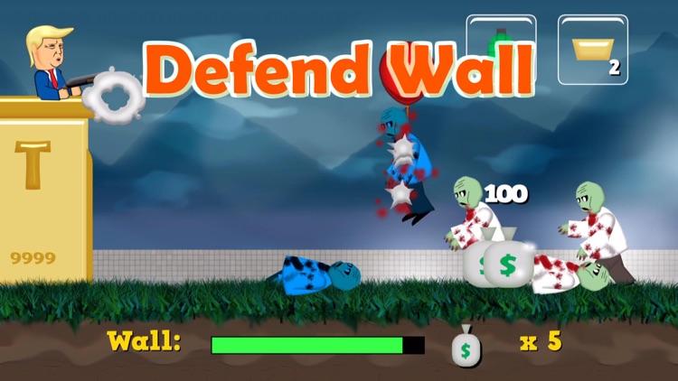 Trump Wall: Zombies