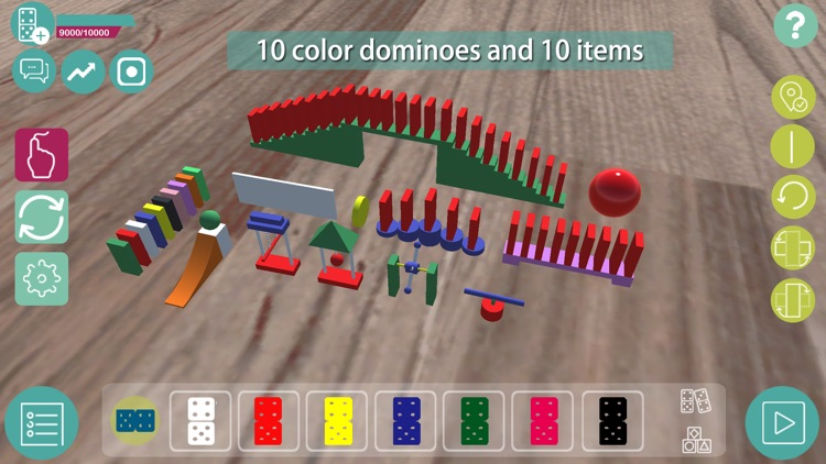 Domino craft - create real domino world