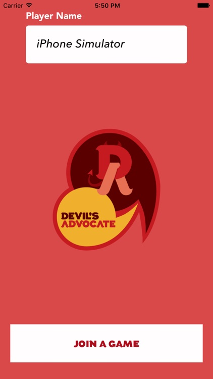 Devil's Advocate Game