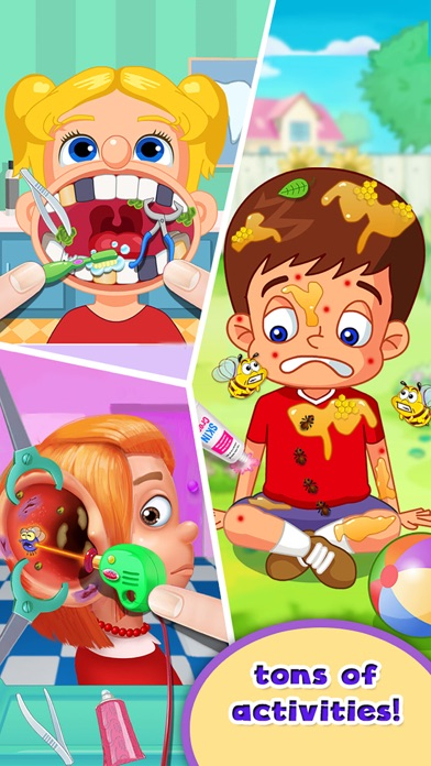 Kids Doctor Little Children Hospital Fun FREE Game screenshot two