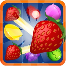 Fruit Crush Mania - Match Free Game