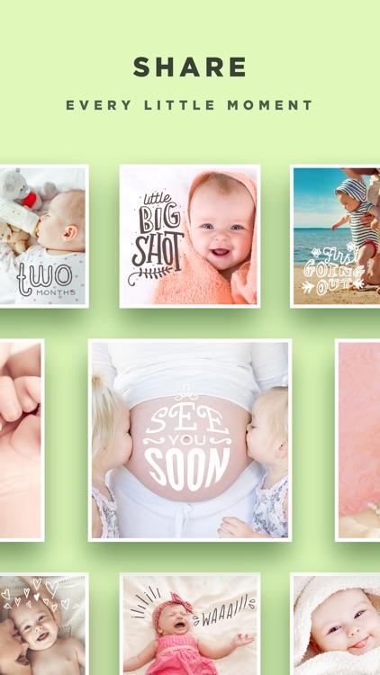Baby Story - Pregnancy Pics Baby Milestones Photo app image