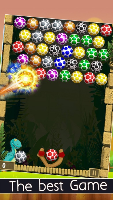 New Bubble Eggs Shooter 2016 Edition screenshot two