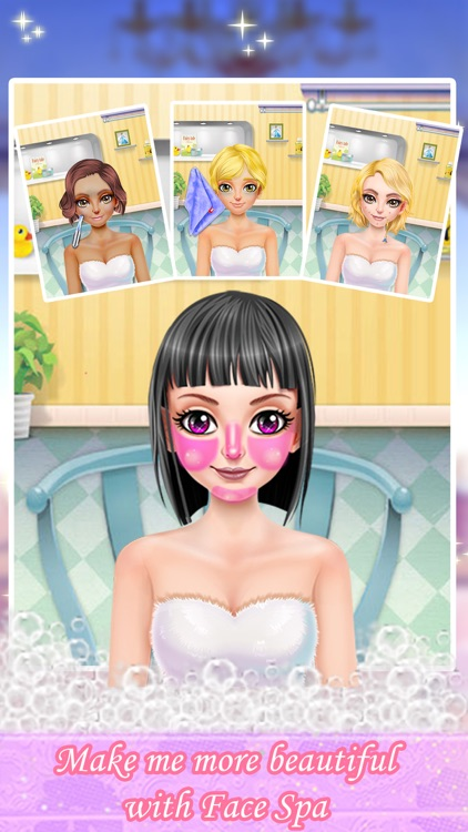 Fashion girl body spa pro