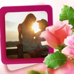 Rose Flower Photo Frame - Amazing Picture Frames & Photo Editor