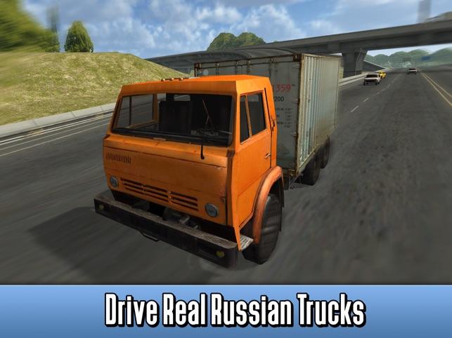 Russian Cargo Truck Simulator 3D Full Screenshot