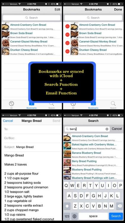 300 Bread Recipes screenshot-4